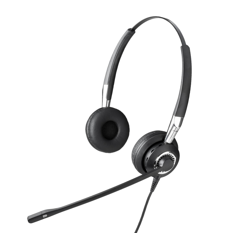 Jabra BIZ 2400 Duo Noise Cancelling Headset - Refurbished