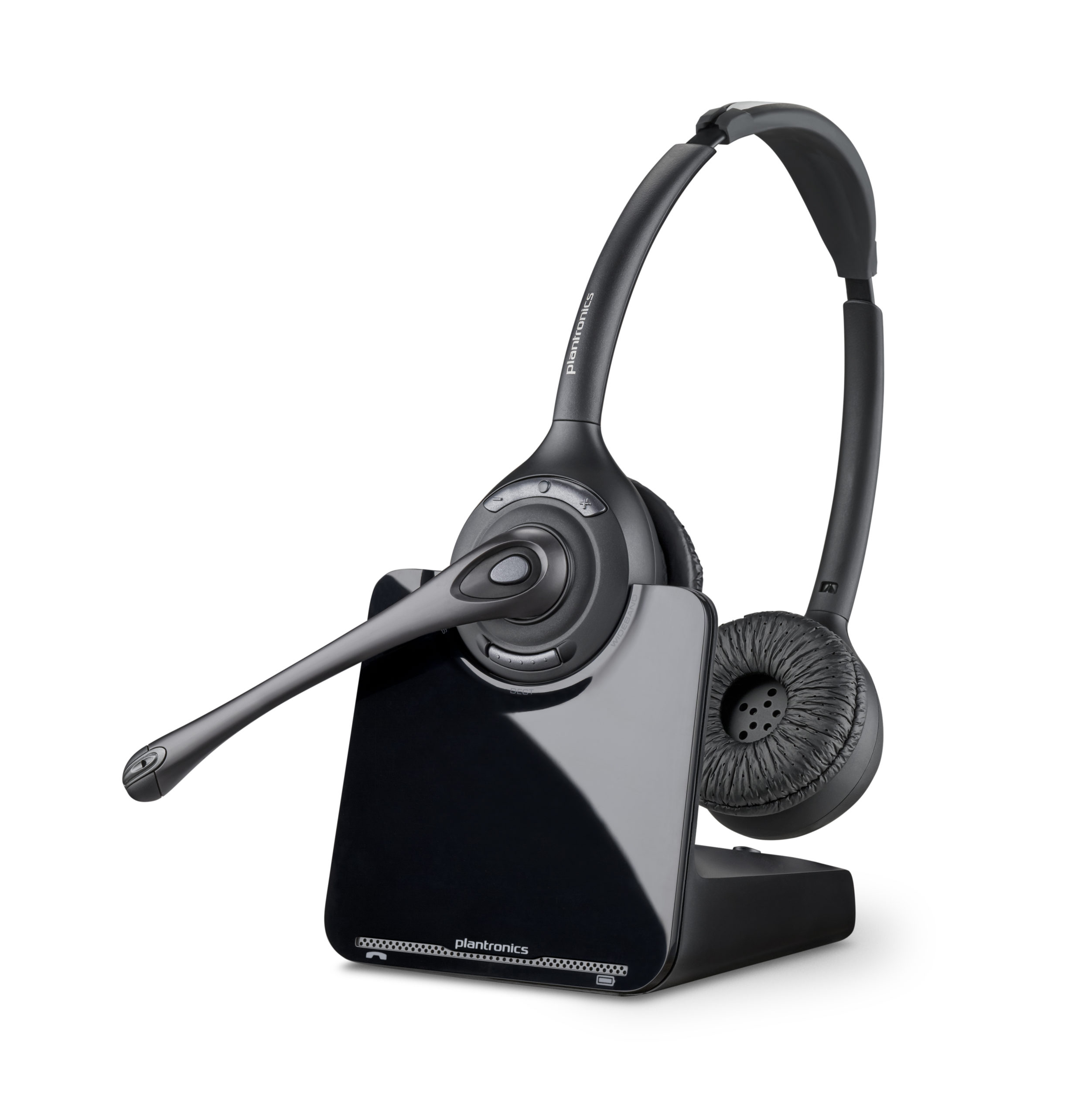 Plantronics CS520 Binaural DECT Cordless Headset - Refurbished