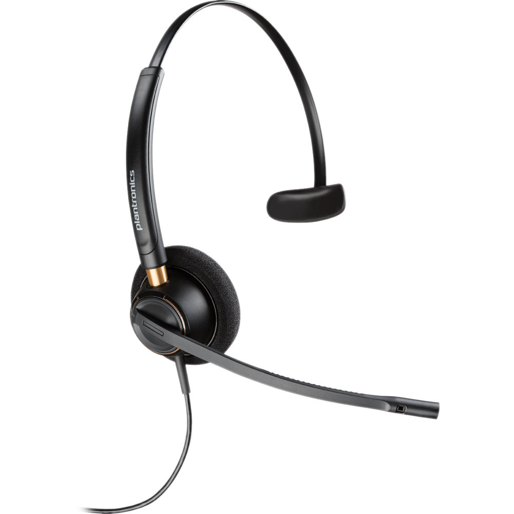 Plantronics Encore Pro HW510N Monaural Noise Cancelling Office Headset - Refurbished