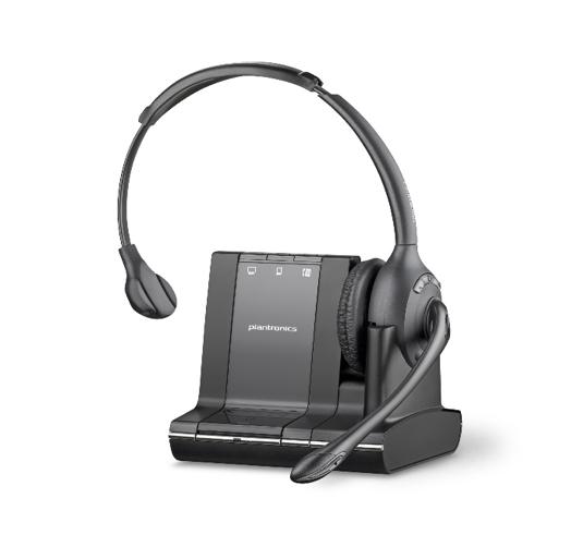 Plantronics Savi Office W710 Cordless Headset For PC, Desk Phone & Mobile - Refurbished