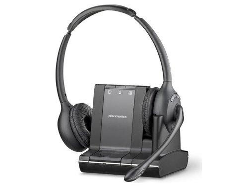 Plantronics Savi Office W720 Binaural Cordless Headset For PC, Desk Phone & Mobile - Refurbished